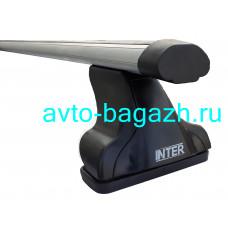 Багажник INTER для Nissan X-trail T30 2001-2007, T31 2007-2014 (Аэродинамические дуги 1,2м). Артикул 8825-1005
