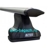 Багажник INTER для Nissan X-trail T30 2001-2007, T31 2007-2014 (Аэро-крыло 1,2м). Артикул 8825-1205