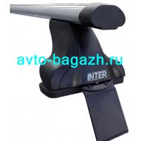 Багажник INTER для HYUNDAI CRETA (2016-) (Аэродинамические дуги 1,2м). Артикул 8813-1005