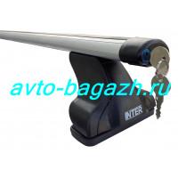 Багажник INTER для Nissan X-trail T30 2001-2007, T31 2007-2014 (Аэродинамические дуги с замком 1,2м) . Артикул 8825-1105