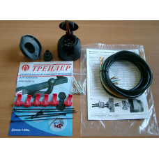 Набор электрики для фаркопа универсальная 1,9 м.