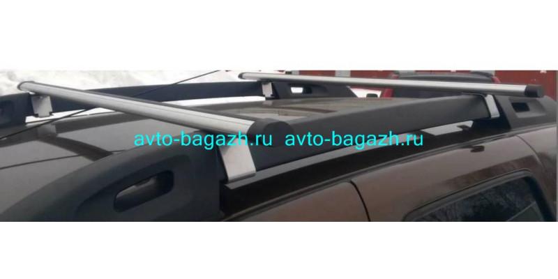 Багажник на рейлинги Renault Duster 2015-2020. (Аэро-120)